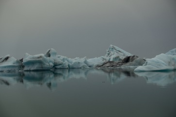 Incredible scenes at the Jokulsarlon lagoon