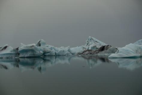 Incredible scenes at the Jokulsarlon lagoon