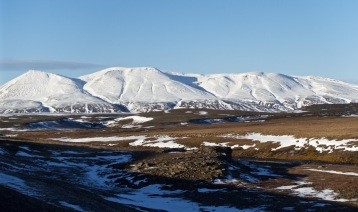 The cold desert