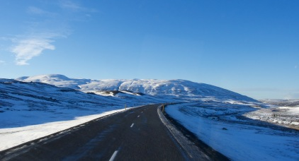 Driving the cold desert