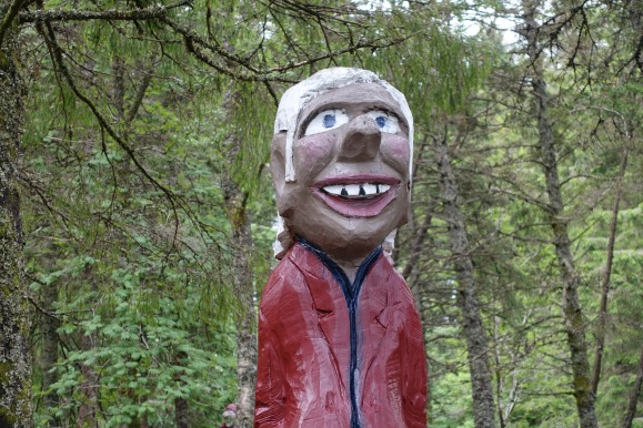 Found this guy in the woods...