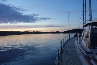Fjord cruising
