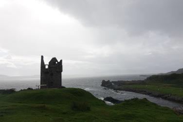 Moody Kerrera castle