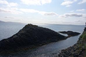 Staffa island exploring