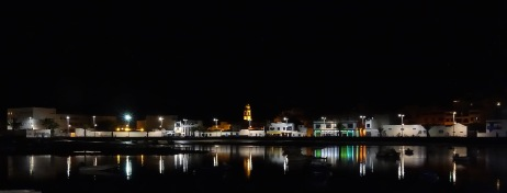 Nighttime reflections