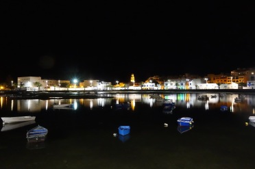 Nighttime in Arrecife