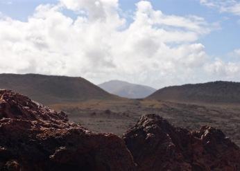 Through the volcanic rocks
