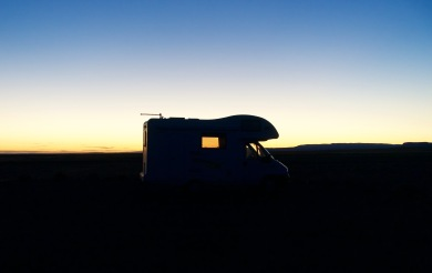 Camp for the night in Vatnajokull