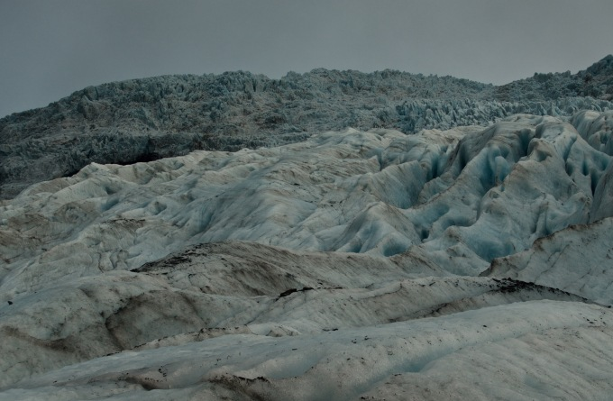 Vatnajokull glacier, largest in Europe