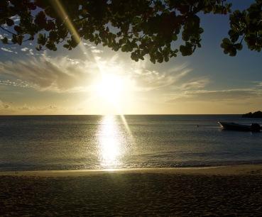 Caribbean sunsets
