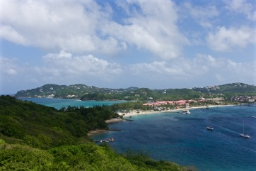 View from Pigeon island