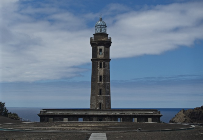 Capelinhos lighthouse