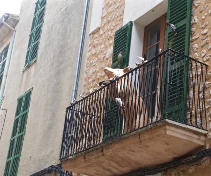 Parma ham balconies