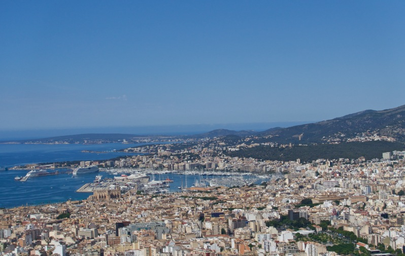 Palma from above