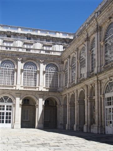Palace shadows