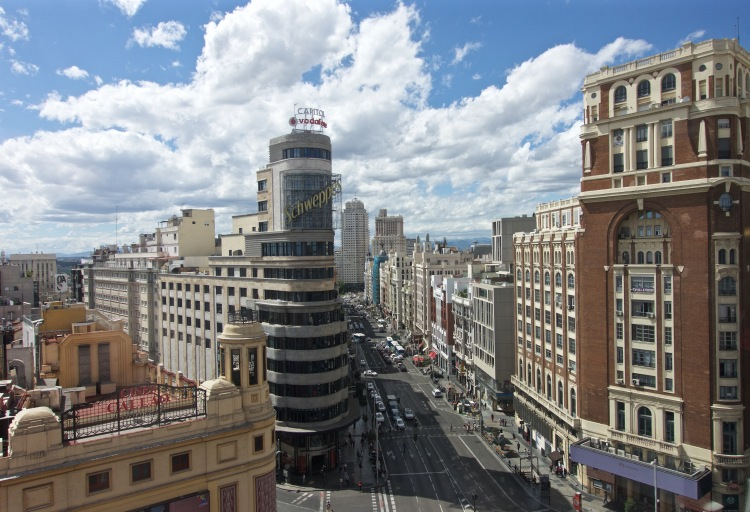 Overlooking Gran Via