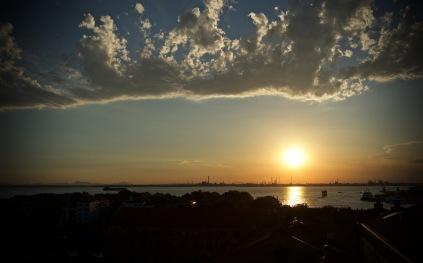 Drama sky in Venice