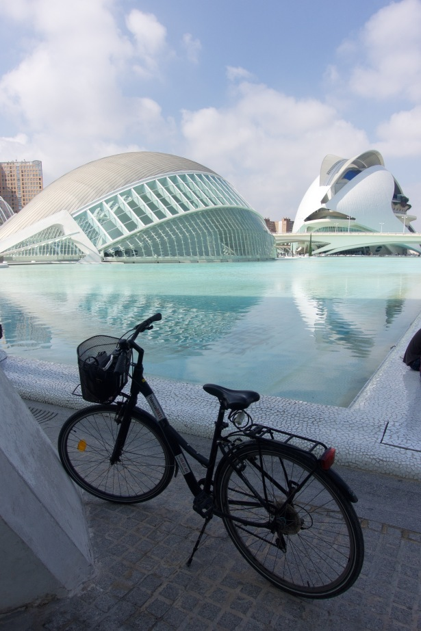 City of arts & sciences cycling