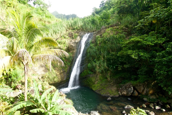 Exploring Grenada and its falls