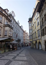 Pretty streets of Prague