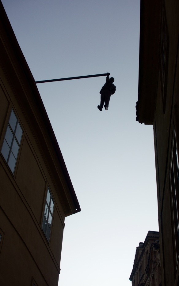 Hangin in Prague