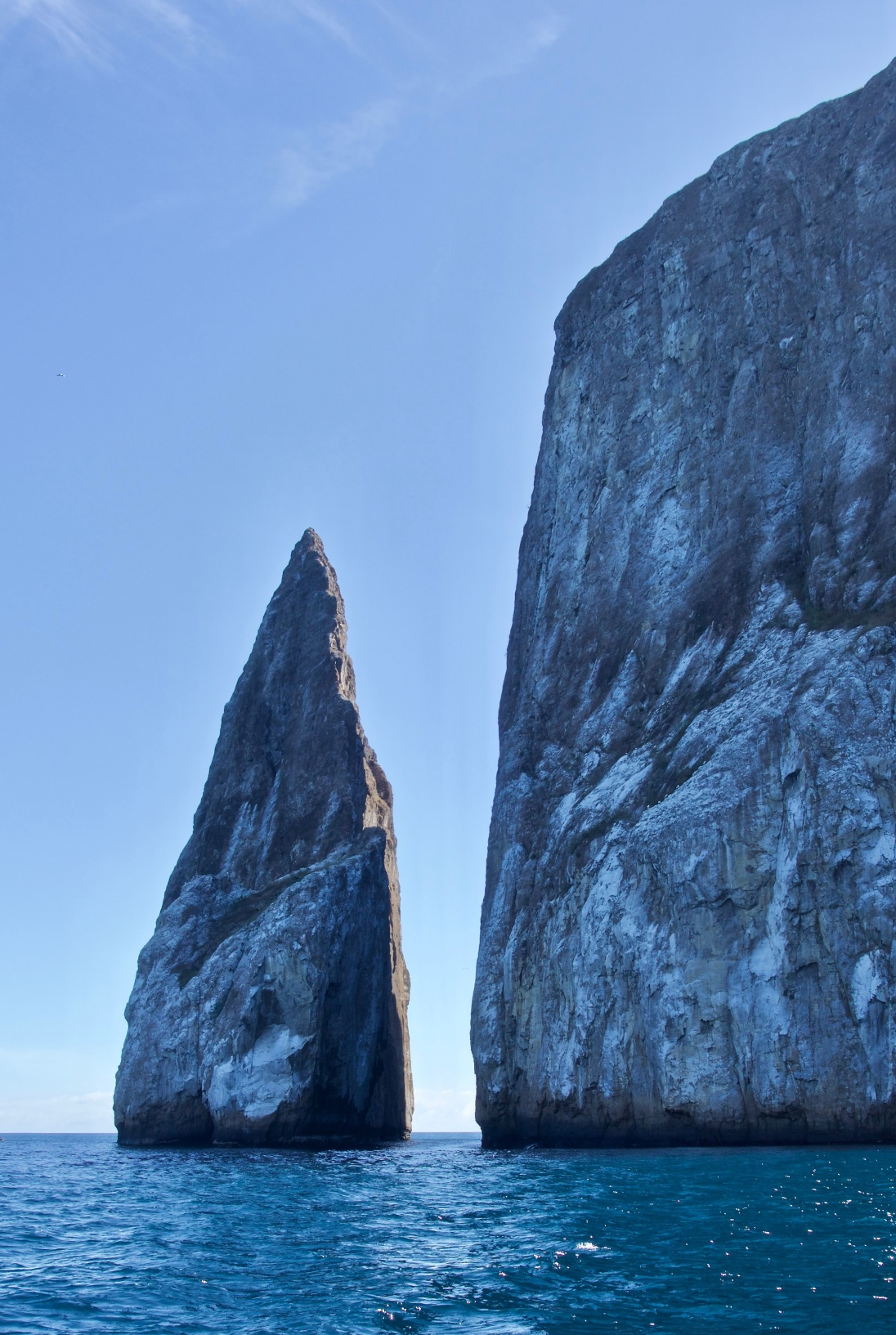 Kicker Rock in the sunshine