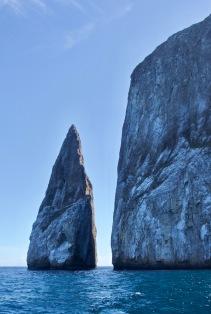 Kicker Rock in the sunshine
