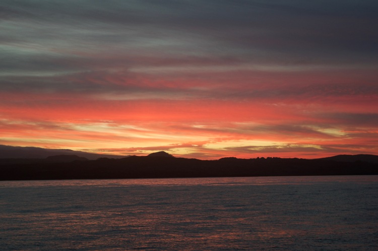Pretty Galapagos sunsets